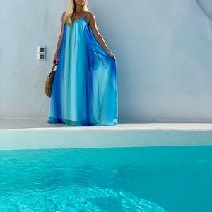Forever Better Blue Ombré dress: RDB